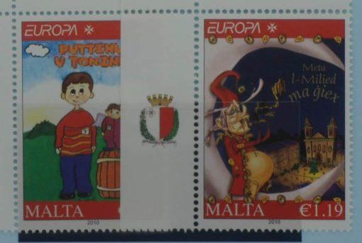 Malta Stamps, 2010, SG1666-1667, Mint 3