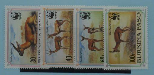 Burkina Faso Stamps, 1993, SG1070-1073, Mint 1