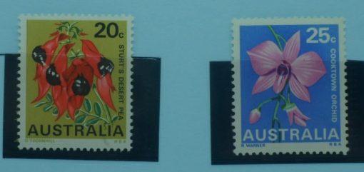 Australia Stamps, 1968-71, SG423-424, Mint 5