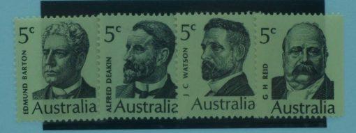 Australia Stamps, 1969, SG446-449, Mint 5