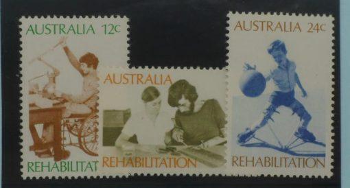 Australia Stamps, 1972, SG514-516, Mint 5