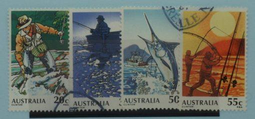 Australia Stamps, 1979, SG724-727, Used 5