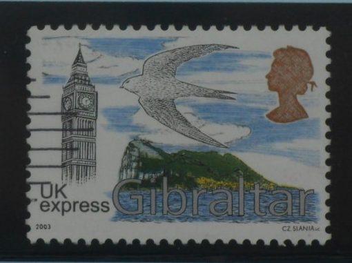 Gibraltar Stamps, 2003, SG1056, Used 5