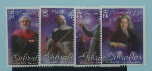 Gibraltar Stamps, 2009, SG1332-1335, Mint 5