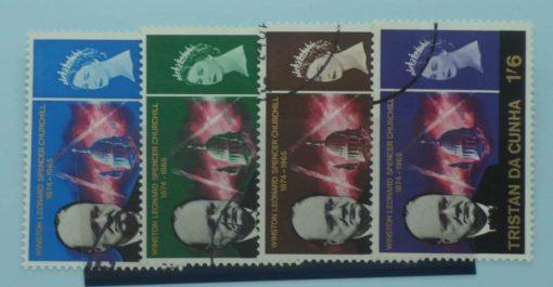 Tristan da Cunha Stamps, 1966, SG89-92, Used 1