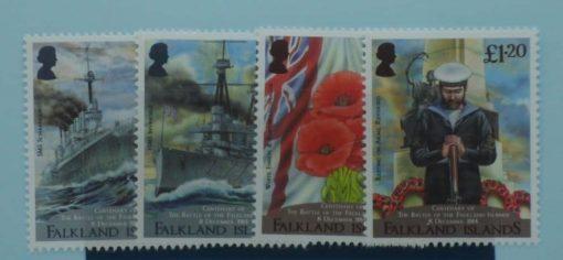 Falkland Islands Stamps, 2014, SG1300-1303, Mint 3