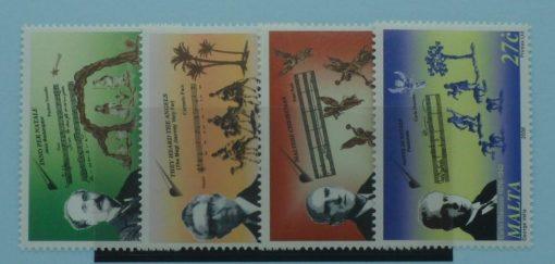 Malta Stamps, 2006, SG1504-1507, Mint 5