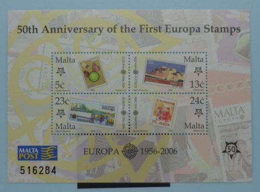 Malta Stamps, 2006, MS1455, Mint 5