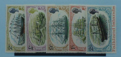 Falkland Islands Stamps, 1970, SG258-262, Mint 5