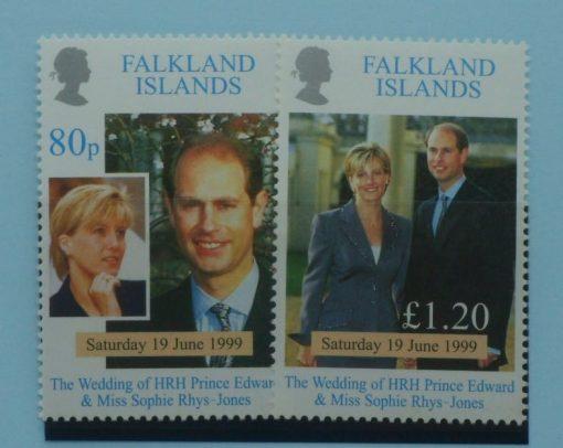 Falkland Islands Stamps, 1999, SG838-839, Mint 5