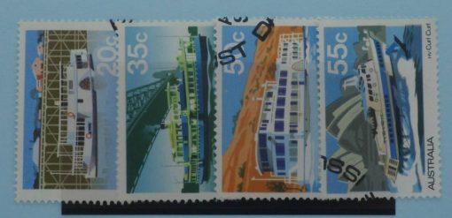 Australia Stamps, 1979, SG704-707, Used 3
