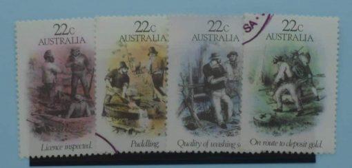 Australia Stamps, 1981, SG774-777, Used 5