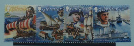 Gibraltar Stamps, 1999, SG872-875, Mint 5