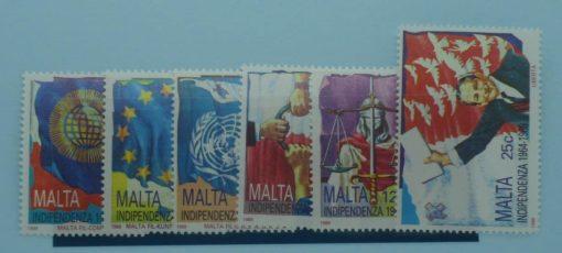 Malta Stamps, 1989, SG842-847, Mint 5
