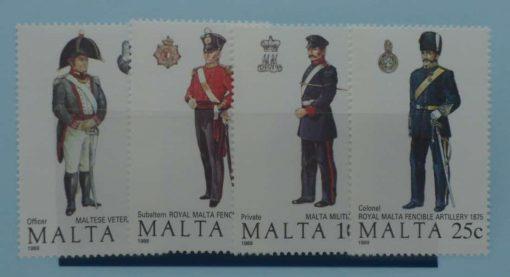 Malta Stamps, 1989, SG851-854, Mint 5