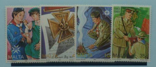 Malta Stamps, 1993, SG945-948, Mint 5
