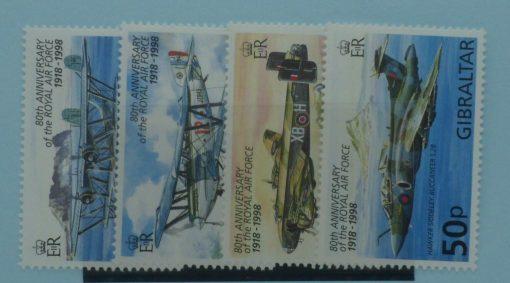 Gibraltar Stamps, 1998, SG829-832, Mint 3