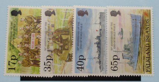 Falkland Islands Stamps, 1995, SG737-740, Mint 5