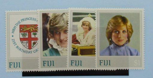 Fiji Stamps, 1982, SG640-643, Mint 5