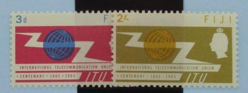 Fiji Stamps, 1965, SG341-342, Mint 5