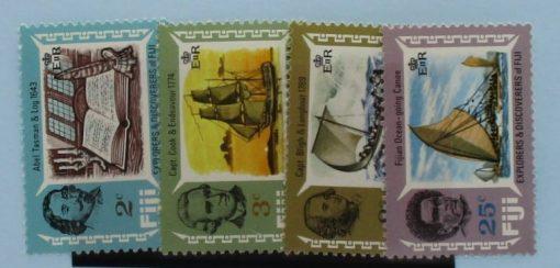 Fiji Stamps, 1970, SG424-427, Mint 5