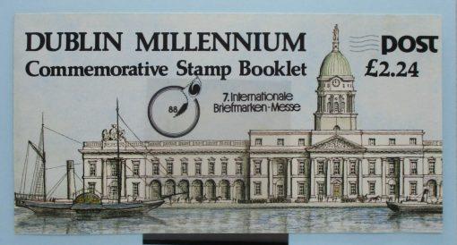 Ireland Stamps, 1988, SB30, Mint 5