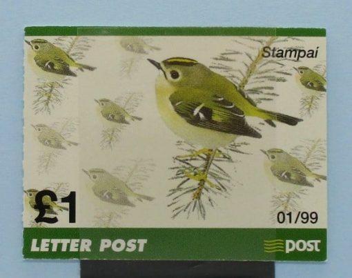Ireland Stamps, 1999, SB70, Mint 5