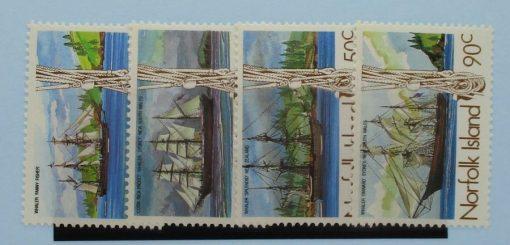 Norfolk Islands Stamps, 1985, SG356-359, Mint 5