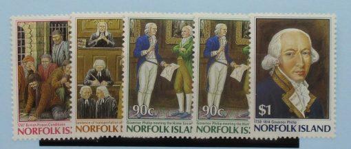 Norfolk Islands Stamps, 1986, SG396-400, Mint 5