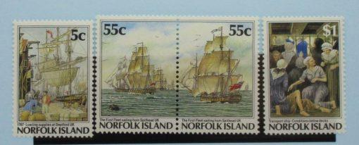 Norfolk Islands Stamps, 1987, SG421, 422a, 424, Mint 5
