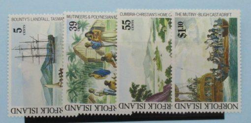 Norfolk Islands Stamps, 1989, SG460-463, Mint 5