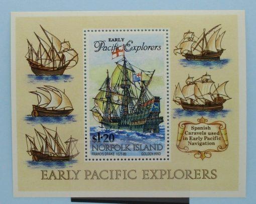 Norfolk Islands Stamps, 1994, MS574, Mint 5