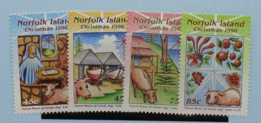Norfolk Islands Stamps, 1996, SG628-631, Mint 5
