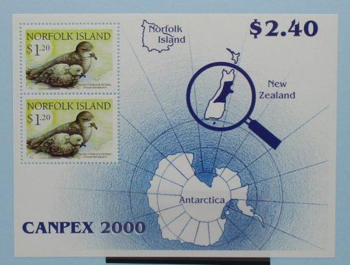 Norfolk Islands Stamps, 2000, MS738, Mint 5