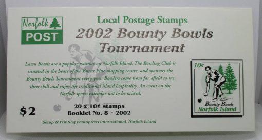 Norfolk Islands Stamps, 2002, SB17, Mint 5