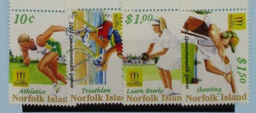 Norfolk Islands Stamps, 2002, SG809-812, Mint 5