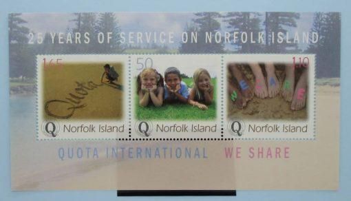 Norfolk Islands Stamps, 2004, MS886, Mint 5