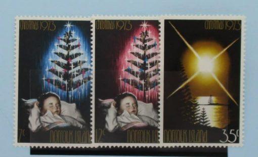 Norfolk Islands Stamps, 1973, SG130-132, Mint 5