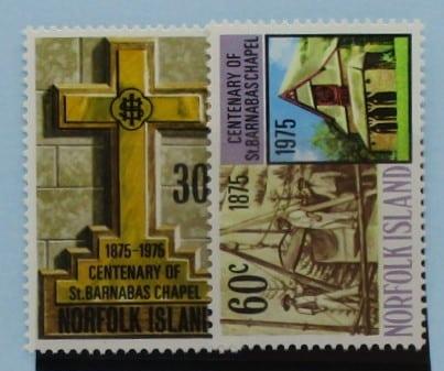 Norfolk Islands Stamps, 1975, SG168-169, Mint 5