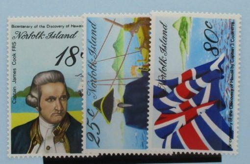 Norfolk Islands Stamps, 1978, SG200-202, Mint 5