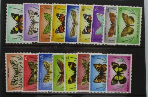 Norfolk Islands Stamps, 1976-77, SG179-195, Mint 5