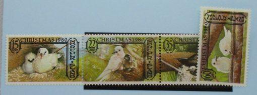Norfolk Islands Stamps, 1980, SG254a, SG257, Mint 5