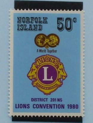 Norfolk Islands Stamps, 1980, SG234, Mint 5