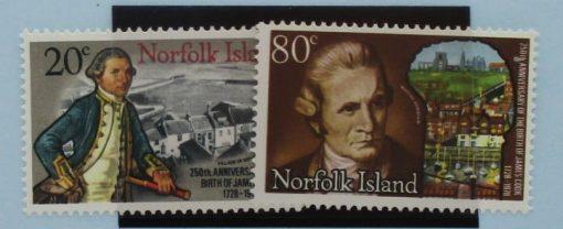 Norfolk Islands Stamps, 1978, SG218-219, Mint 5