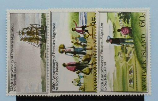 Norfolk Islands Stamps, 1981, SG258-260, Mint 5