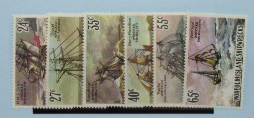 Norfolk Islands Stamps, 1982, SG287-292, Mint 5