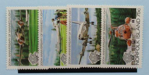 Norfolk Islands Stamps, 1983, SG304-307, Mint 5