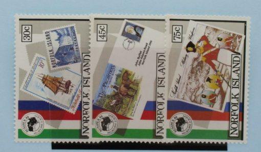 Norfolk Islands Stamps, 1984, SG343-345, Mint 5