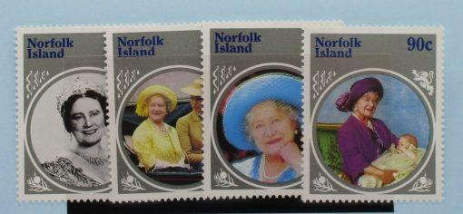 Norfolk Islands Stamps, 1985, SG364-367, Mint 5