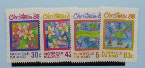Norfolk Islands Stamps, 1988, SG448-451, Mint 5